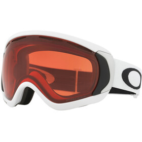 Oakley Canopy Gafas de Nieve, matte white/w prizm rose